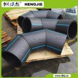 Локоть изготовленный OEM 90 Deg. для воды и газа, черноты и сини