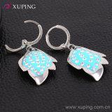 Xupingの卸し売り方法新しい女性葉のラインストーンの宝石類のイヤリングのEardrop -26458
