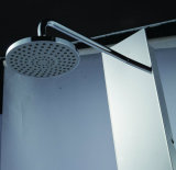 El panel del acero inoxidable en la columna de la ducha del final del espejo (K2609)