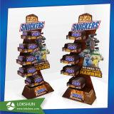 La palette d'étage de promotion de Noël réserve le présentoir de cartons de compartiments