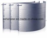 Plaque inoxidable gravée en relief de modèle pour la plaque de refroidissement d'échange thermique
