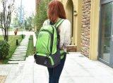 Sacchetto rampicante di nylon verde esterno dello zaino di Moutain per gli uomini