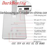 Caricatore senza fili di carico veloce trasparente del Qi per il iPhone X 8