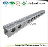 Zilver Geanodiseerde LEIDENE van het Aluminium van de Strook Heatsink met ISO9001