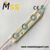 Super Alto Brillo 3 X LED SMD5730 con el objetivo del módulo de inyección (160 grados)