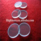 Dischi trasparenti di vetro di quarzo del cerchio di Manufacurer