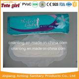 Салфетка используемого и устранимого типа времени дня женская санитарная