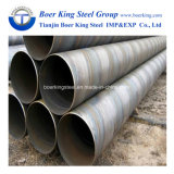 3 a 12m de comprimento, API 5L de óleo /Linha de tubos de gás /tubo de aço soldadas em espiral