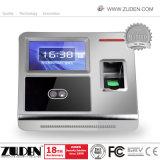 アクセス制御機能のTCP/IPの指紋の時間出席