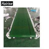 L'industrie du carton vert Table PVC Straigth Convoyeur à courroie industrielle