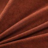 Tissu neuf de cuir du suède 2018 pour le sofa