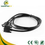 Linha de dados impermeável feita sob encomenda conetor do cabo distribuidor de corrente do fio