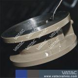 Aço inoxidável chapa dupla válvula de retenção de wafers