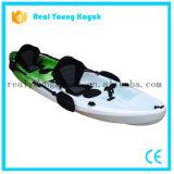 2+1 tre sedi che pescano la canoa di plastica dell'oceano del kajak (M06)