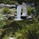 Acciaio inossidabile 304 cascate esterne di giardinaggio della fontana di caduta dell'acqua della cortina d'acqua della piscina nel massaggio