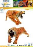 Tiger der Plastiktierzoll-Kinder als Geschenk