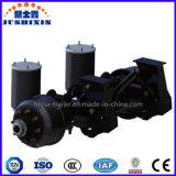 3車軸上昇機能トレーラーの空気懸垂装置