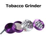 4 porciones del tabaco de la amoladora de trituradora de aluminio de la hierba