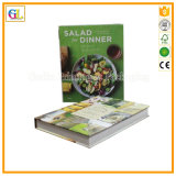 Impression dure de livre de cuisinier de couverture (OEM-GL022)