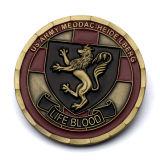 Les approvisionnements vendent le cuivre antique fait sur commande plaqué plaquant des pièces de monnaie de mémorial en métal