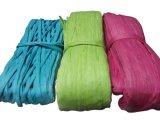Kundenspezifische dekorative Fertigkeit-Papier-Schnur-verdrehtes Seil für das Verpacken