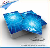 O cartão de membro de PVC em face dupla da impressora com o preço do Distribuidor