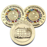 Cliente barato de la fábrica militar propio logotipo oro falso Soft enamel monedas chapado en oro.