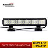 108W Lumière LED 17,2 pouces de barres pour off road