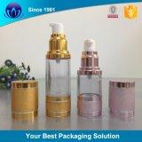 Bottiglie cosmetiche senz'aria della pompa della boccetta di vuoto della pompa della crema della bottiglia 15ml 30ml 50ml per l'estetica