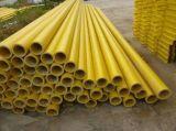 Vidrio de fibra, tubo rectangular de FRP GRP para el hogar