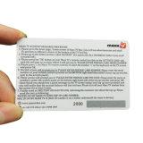 Precios baratos de plástico personalizada/PVC Tarjeta Regalo de Navidad para promoción