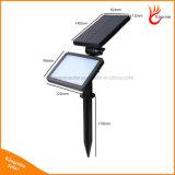 48 LED-Solarrasen-Licht-Bewegungs-Fühler-Garten-Wand-Lampe