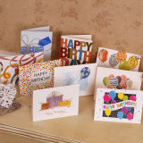 Tarjeta de felicitación de cumpleaños personalizables de papel de la tarjeta de originalidad