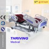 Professional eléctrico de la función de la ICU 5 cama de hospital