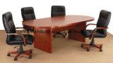 多重カラーのカスタマイズされたオフィス用家具の会議の席の会合表