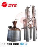 equipo comercial del brandy de la vodka de la destilería del alcohol 1000L para la venta hecha del cobre