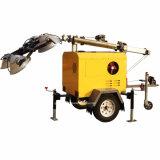 Móviles montados sobre camiones de la Torre de Luz con 7,2 de alto y Perkins o motor Kubota