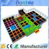 8 en trampolines de 1 amortiguador auxiliar/el parque locos del trampolín del amortiguador auxiliar para la venta