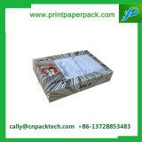 Fullset PVC Windowsが付いている装飾的なボックス板紙箱