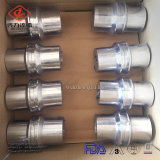 4 Montage van de Pijp van de Metalen kap van het Roestvrij staal van de duim de Sanitaire