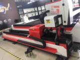 Tagliatrice del laser della fibra per il piatto di taglio ed il tubo GS-3015g