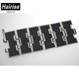 Hairise 812Fh tablilla del sistema de transferencia de la parte superior de la cadena de acero inoxidable