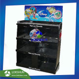 Ustensiles de cuisine carton palette avec des étagères d'Affichage Holding Pre-Assembled 50kg sont livrés avec l'emballage, Fsdu