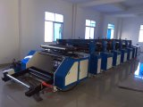 Máquina de impresión Flexo bolsa de papel de impresión, el Cup (ZB - 800) en línea