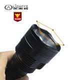 Lampe-torche rechargeable de la lampe-torche légère intense légère extérieure DEL