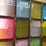 Bloque de Cristal de construcción decorativa con certificación