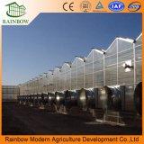 Proyecto agrícola del invernadero de la tarjeta de PC