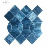Dunkelblaue Buntglas-Mosaik-Fliese für Küche-Wand-Dekoration