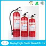 Rote Puder-Lacke für Feuerlöscher