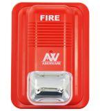 2本のワイヤータッチ画面のAsenwareの火災報知器のパネル